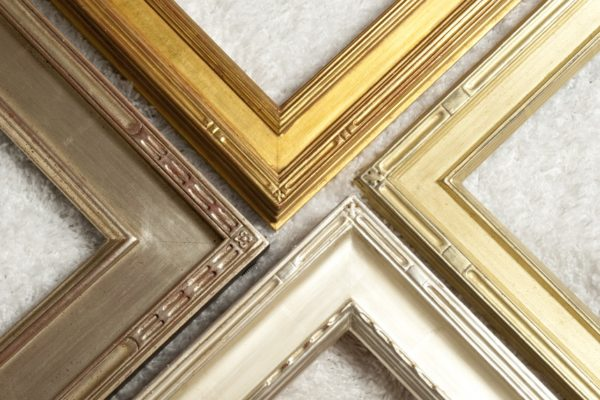 American Gold Leaf Frame Finish Example