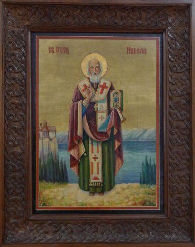 Sveti Nikola Icon Restoration
