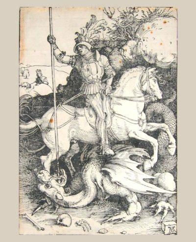 Albrecht Dürer, before restoration