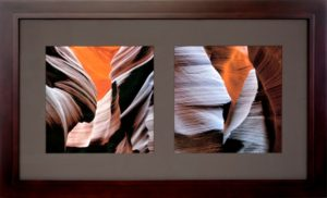 seamless hardwood picture frame