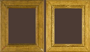 An original custom picture frame by the American Arhitect Stanford White