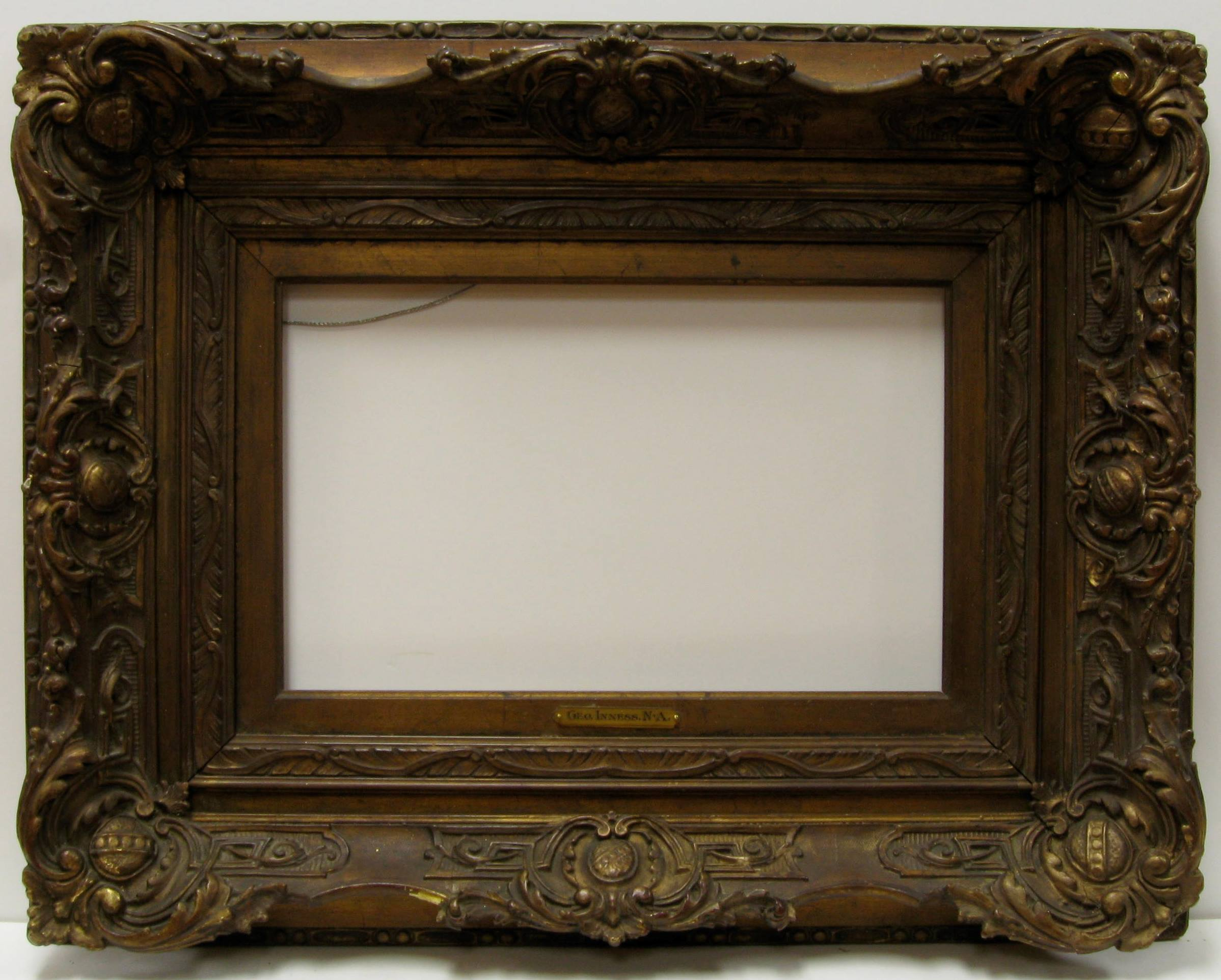 Picture Frame Restoration and Conservation process example