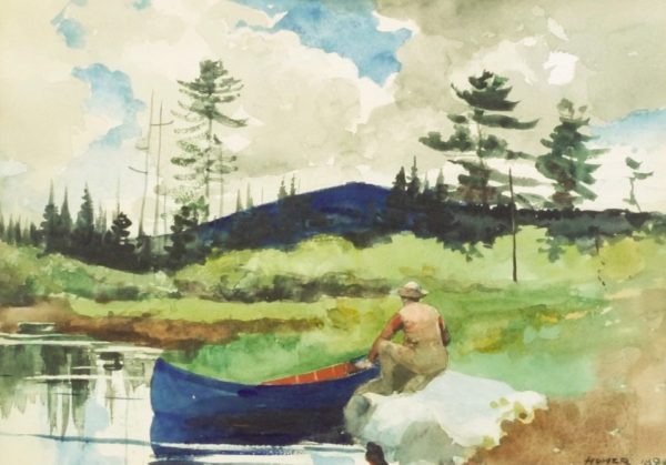 Winslow Homer restoration by Oliver Brothers in Boston