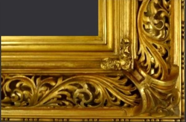 gilded picture frame restoration